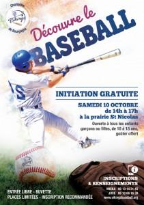 Découvre le baseball à Chalon sur Saône - Vikings